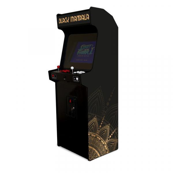 Borne de jeux d'arcade – Black Mandala