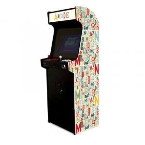 Borne d'arcade - letters