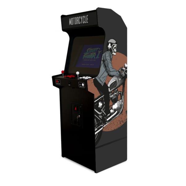 Borne d'arcade - motorcycle