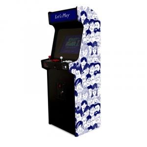 Borne d'arcade - people