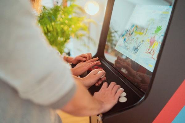 borne arcade geneve