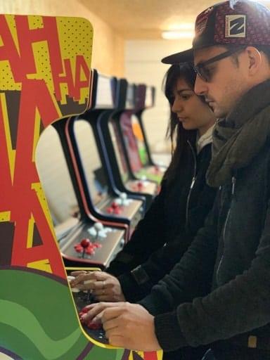 borne arcade soiree