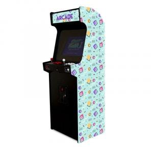 Borne d'arcade Memphis Bleu
