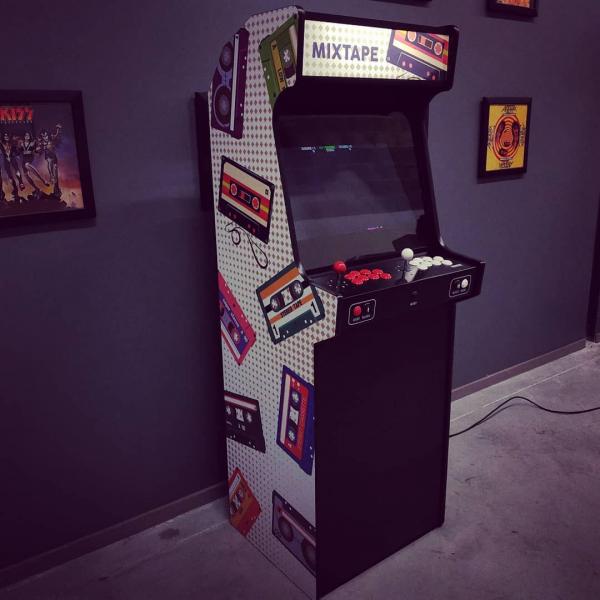Borne d'arcade Mixtape